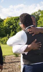 Outdoor Wedding, JP Arboretum, Jamaica Plain Arboretum, Candid Wedding, Natural Light Wedding