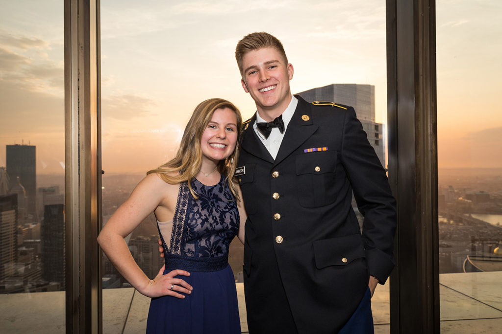The Liberty Battalion Military Ball at the Boston College Club